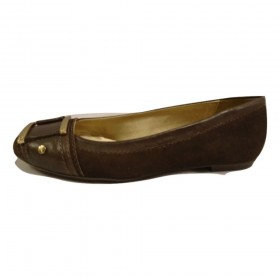 Alloy Brown Suede FS/NY Flat