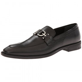 Bryc06 Black Donald Pliner Leather Loafers