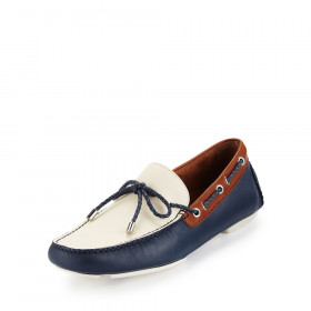 Vicc Navy Donald Pliner Loafers Mens