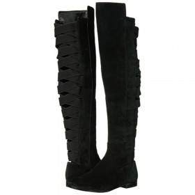 Nine West Women's Eltynn Black Knee High Boot
