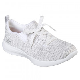 12877 Studio Comfort White Light Grey Skechers