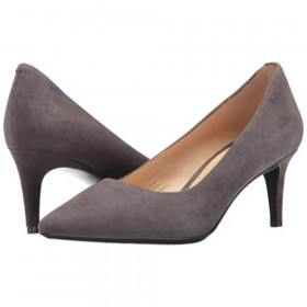 Soho 9X9 Grey Suede Nine West Pump