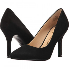 Fifth9X9 Black Suede Nine West Pumps