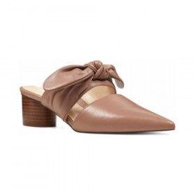 Zeal Natural Leather Nine West Mule