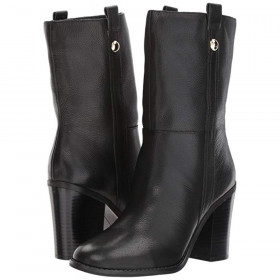 Howl Black Leather Nine West
