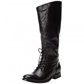 Melissa Black Leather Frye Boot