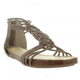 Cali Rosewood Adam Tucker Wedge Sandal