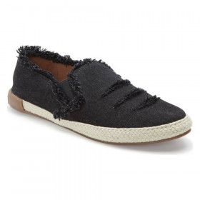 Marin Black Denim Adam Tucker Slipon Sneaker Flat