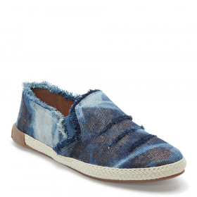 Marin Navy Denim Adam Tucker Slipon Sneaker Flat