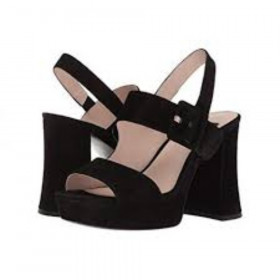 Lexine Black Suede Nine West I-1-112249