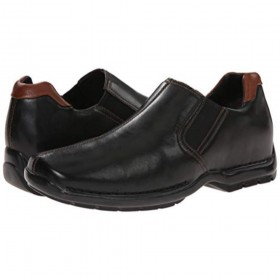 Zeno Black Cole Haan Mens Slipon Loafer