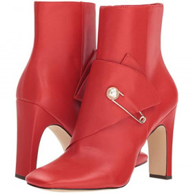 Quitit Red Leather Nine West I-1-112305