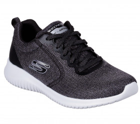 13111 UltraFlex Black Skechers I-1-112313