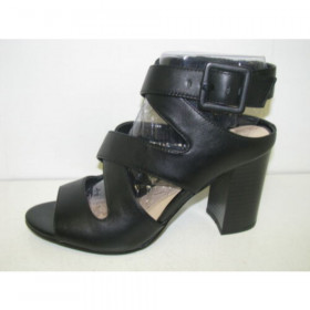 Baddeno Black Nine West Sandal I-1-112418