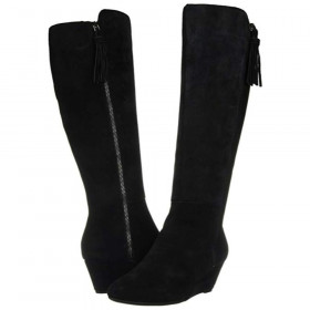 Alanna Black Wedge AK Boot I-1-112604