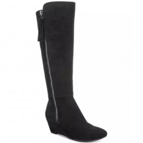 Alanna Black Wide Calf AK Boot I-1-112615