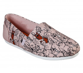 33272 Bobs Plush Where's Scooby Blush Pink Skechers