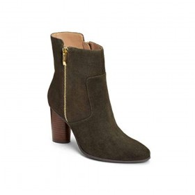 Asset Green Suede Aerosoles Ankle Boot