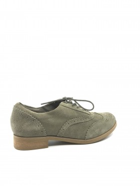8126 RFD Rangeley Brogue Gray Suede Timberland Oxford Shoes