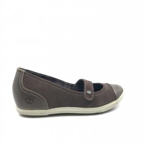 3310 RFD Brown Mauve Timberland Wedge Mary Janes