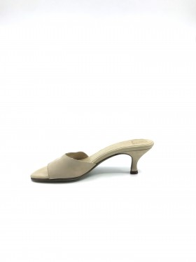 Veda Sand Leather Donald Pliner Slide Sandal