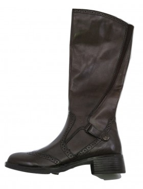 Siena Wing 2064 Chocolate Leather Bussola Boots
