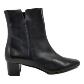 Sesto Meucci Womens Rance Black Leather Ankle Boot