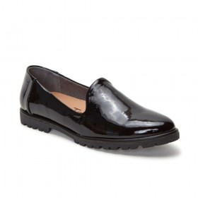 Cambrie Black Patent Me Too Loafer Flat