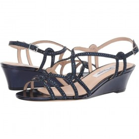 Fynlee Navy Dreamland Nina Wedge Sandals
